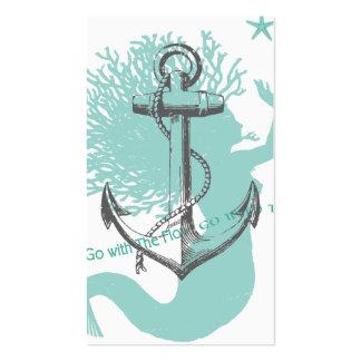 Mermaid Profile Card Business Card