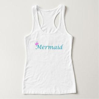 Mermaid Queen Tank Top by Mostly Mermaid Designs