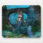 Mermaid Queen - Under the Sea Mousepad
