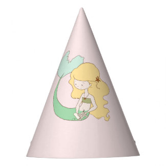 Mermaid Reading Party Hat