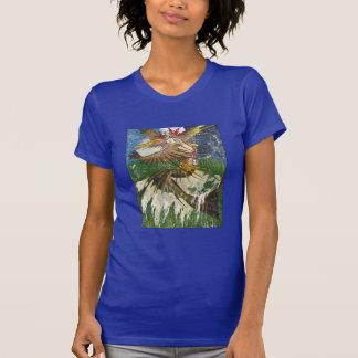 Mermaid Riding a Wave T-Shirt