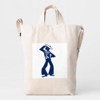 Mermaid & Sailor Duck Canvas Bag