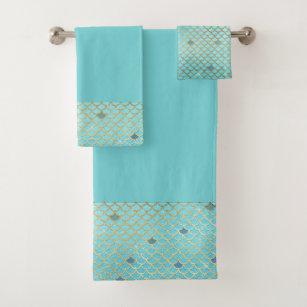 Mermaid Bath Towels Zazzle