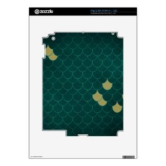 Mermaid Scales iPad 2 Skin