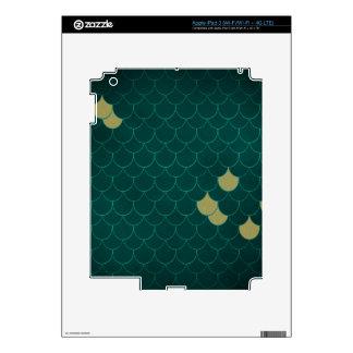 Mermaid Scales iPad 3 Skins