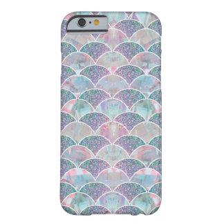 Mermaid scales iridescent glitter iPhone case