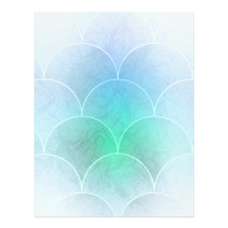 Mermaid Scales Letterhead