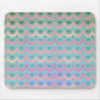Mermaid Scales Party One Mouse Pad