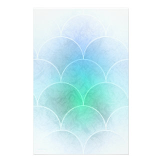 Mermaid Scales Stationery