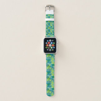Mermaid Scales Vibrant WC Multi 2 Apple Watch Band