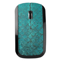 Mermaid Scales Wireless Mouse