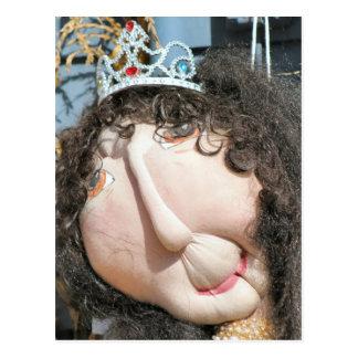 Mermaid Scarecrow Postcard
