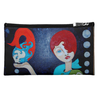 Mermaid Science - Small Cosmetic Bag