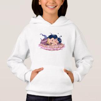 MERMAID SEA  CARTOON Girls' Hanes ComfortBlend® Ho Hoodie