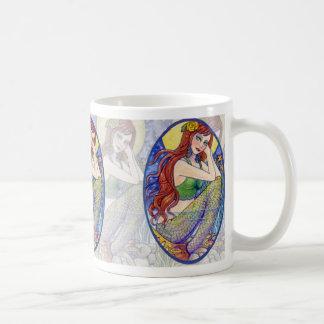 Mermaid Sea Fairy Tea Coffee Mug by Ann Howard