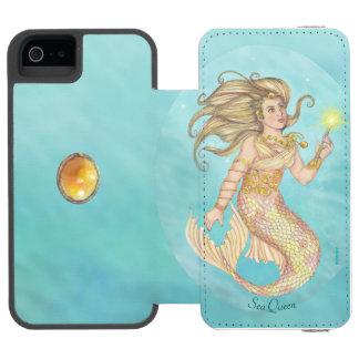 Mermaid Sea Queen Fia Fantasy iPhone SE/5/5s Wallet Case