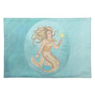 Mermaid Sea Queen Fia Fantasy Placemats