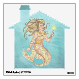 Mermaid Sea Queen Fia Fantasy Wall Graphic