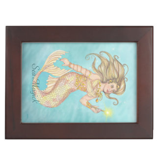 Mermaid Sea Queen Fia Travel Altar Witch Wiccan Keepsake Boxes