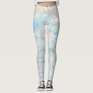 Mermaid: Sea Spray, Opal, Pink Flare, Oyster Pink Leggings