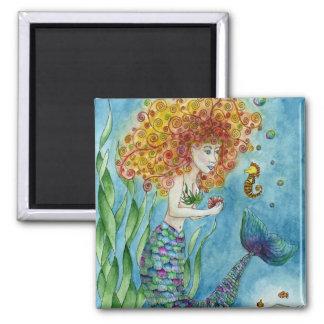 Mermaid - Seahorse Magnet