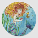 Mermaid - Seahorse Sticker
