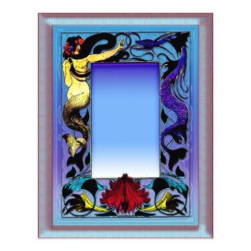 Mermaid Serpent Letterhead