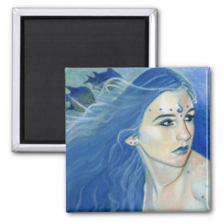 Mermaid Shades of Blue Magnet