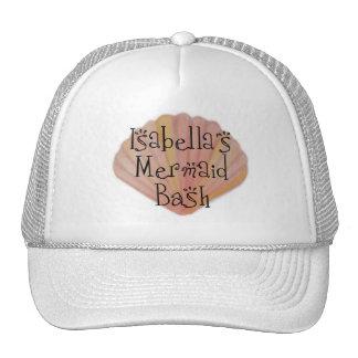 Mermaid Shell Hat