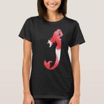 Mermaid Silhouette Nautical Summer Beach T-Shirt