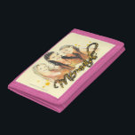 """Mermaid Sketch Tri-fold Wallet<br><div class=""""desc"""">Check out these official H2O designs! Personalize your own H2O merchandise on Zazzle.com! Click the Customize button to insert your own name or text to make a unique product. Try adding text using various fonts &amp; view a preview of your design!</div>"""