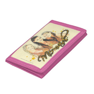 Mermaid Sketch Tri-fold Wallet