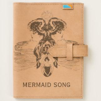 Mermaid Song Sea Green Ocean Blue Love Romance ADD Journal