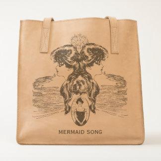 Mermaid Song Sea Green Ocean Blue Love Romance ADD Tote