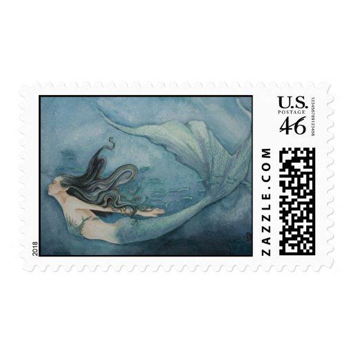 Mermaid Stamp