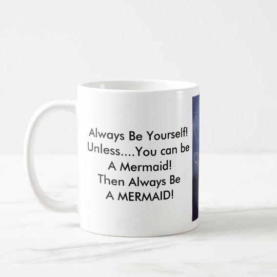 Mermaid Standard Size Coffee Cup