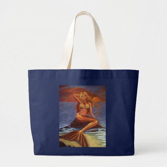 Mermaid Sunset - Tote Bag