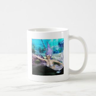 Mermaid Swimming Coffee Mug