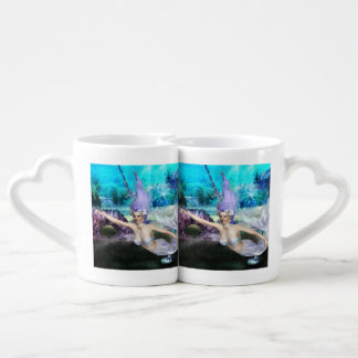 Mermaid Swimming Coffee Mug Set