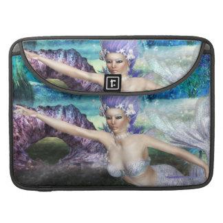 Mermaid Swimming MacBook Pro Sleeve