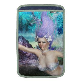 Mermaid Swimming MacBook Sleeve