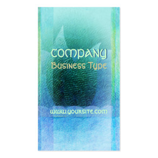 Mermaid Tail Abstract 2 Double-Sided Standard Business Cards (Pack Of 100)