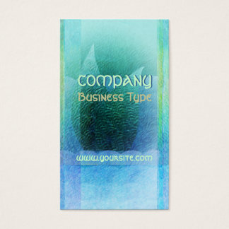 Mermaid Tail Abstract 2 Business Card