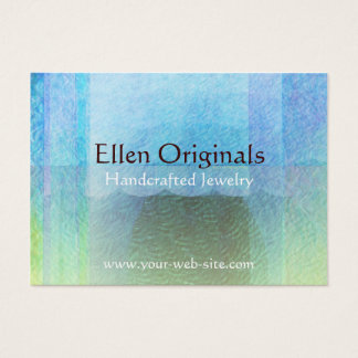 Mermaid Tail Abstract 2 Light Business Card