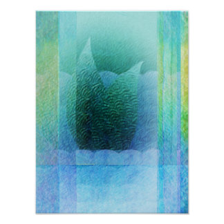 Mermaid Tail Abstract 2 Poster