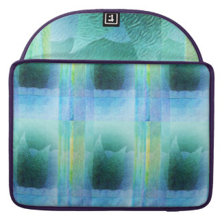 Mermaid Tail Abstract 2 Sleeves For MacBook Pro