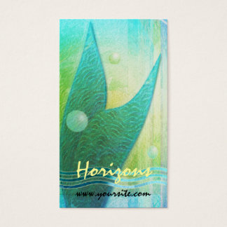 Mermaid Tail Abstract 3 Business Card
