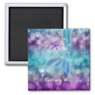 Mermaid Tail Enchanted Under The Sea Magnet