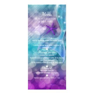 Mermaid Tail Enchanted Under The Sea Party Menu