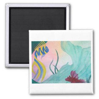 Mermaid Tail & Fish Magnet
